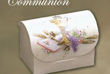 First Holy Communion | & Confirmation / Important Tip:  Start early planning and buying the things you want for your child's First Holy Communion or Confirmation.  So many last-minute shopping parents are disappointed to hear when products are sold out 2 weeks before the event.  http://www.alloccasionsgiftware.com/cat_special_occasions_boxes.cfm / by AllOccasionsGiftware.com