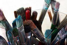 utileria propia de ruben / objetos utilizados por un pintor