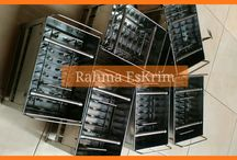 Cetakan es krim stik   Rahma es krim 0852-1042-3883 / Menyediakan dan menjual cetakan / moulding jepit es krim stik / es loly bahan stainless steel isi 40 lubang