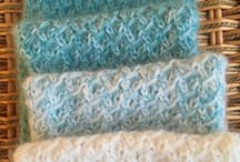 Mohair crochet and knitting patterns