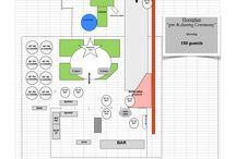 Seating Diagrams / seating diagrams for cafe amelie events