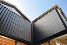 Weatherboard privacy screens