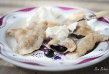 Pierogi Recipes & Inspiration / Pierogi or pirogi, also known as varenyky, are filled dumplings of East European origin. They are made by wrapping pockets of unleavened dough around a savory or sweet filling and cooking in boiling water. (Recipes & Inspiration) Polana.com