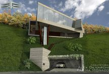 Meus Projetos / Projeto Arquitetonico Residencial em Aclive Residential architectural design in uphill