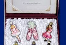 Nutcracker Suite Ballet / Bring the magic of this classic Christmas time story to your tree with  Old World Christmas Glass Ornaments
