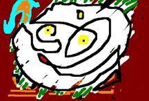 Debuxos e fotos do blog Laranxeira1 / Creacións literarias