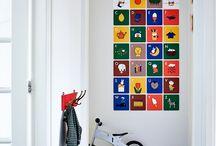 Wanddecoratie / Nijntje alfabet