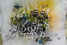 šablona čísla písmena