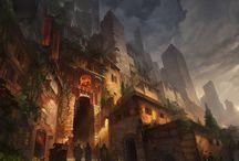 Fantasy Places - city