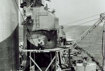 War time pictures / Historical images of the Battleship NORTH CAROLINA during her time in war.