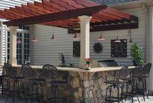 Pergola patio's
