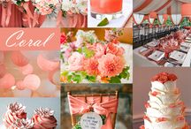 Wedding inspiration- coral