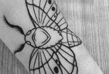 Tattoo / Moth Tattoo