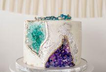 Kristall Zucker Torte