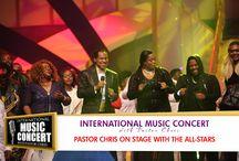 INTERNATIONAL MUSIC CONCERT HELD BY PASTOR CHRIS OYAKHILOME