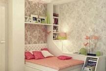 Bedroom / Interiør, fine farger, inspirasjon, noe pent å se på.