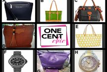 "Thursday is All Ways Chic / Designer Bags and Watches tonight at 9""45 PM ET at OneCentChic"