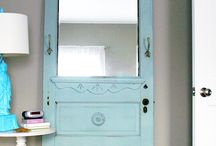doors window shutters & mirrors / by Joyce Cardwell