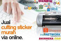 Jual Mesin Cutting Sticker Murah VIA ONLINE di BENGKEL PRINT Jakarta & Surabaya