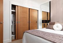 Wardrobe doors / Internal doors are perfect for use as wardrobe doors.  Whether you prefer sliding or standard opening doors, there are lots of options.