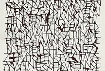 Calligraphy // Caligrafía / El arte de escribir con letra artística y correctamente formada.