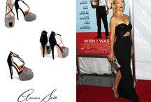 Celebrities wearing Aruna Seth and the coverage / Aruna Seth shoes www.arunaseth.com  #KateHudson #ArunaSeth #shoes #beautiful #celebrities #designer