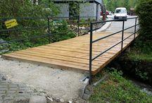 Steel bridge oceľový most
