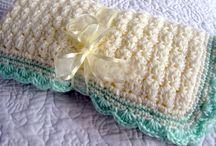 Вязаные одеяльца / Вязание