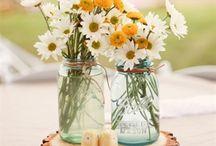 Mariage / Robe, deco, fleurs