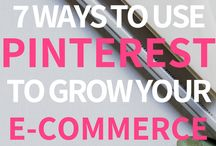 Pinterest for E-Commerce / Make more money with your online store when you use Pinterest to drive traffic and sales!