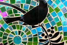 madár mozaik