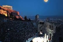 Favorite Places & Spaces / Paris, Agia Kyriaki, Sea, Acropol,Andros,Patras
