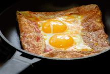 Food : Vegetarian crepes & galettes / by Lisa
