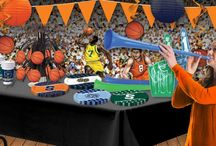 March Basketball Party Ideas / Basketball party ideas and supplies to help you plan for the best March Basketball parties. See more products at www.partycheap.com