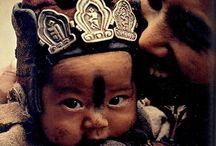 human tribal face