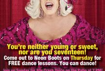 Events / Whats going on at Neon Boots