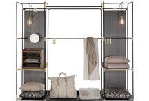 Cabin closet