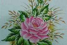 Pinturacomo pintar essa rosa