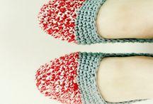 Crochet zapatillas