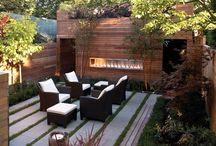 Architecture: Gardens and swimming pool / Beautyfull outdoors and exteriors  / by Up-her.com