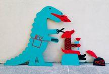 ilustracje dzieci psy