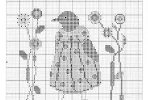 Primitives cross stitching