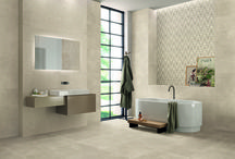 Milestone - Emilceramica / The Milestone collection focuses on the simplest, most natural version of a rich,structured limestone, taken in its original state