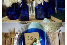Blue & White Wedding