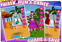 Dress Up Dancing Fashion Girls / Walk, Run and Dance your way to the Party!