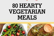 vegetarian foods/recipes