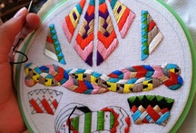 Embroidery stitches Art