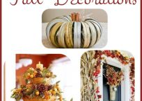 Fall/Thanksgiving Decorations