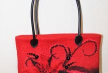 Nuno plstění - kabelky, dolňky