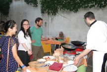 Common Dinners  / Fun atmosphere, guests' get-2-gethers... Dinners cooked by guests for the guests!